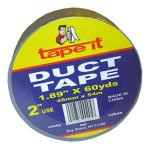 60 YARD SILVER DUCT TAPE