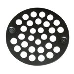 "4"" SS SHOWER GRATE W/SCREWS"