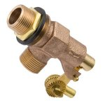 1/2 BRASS MIP FLOAT VALVE