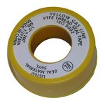 1/2X260 YELLOW GAS TEFLON TAPE