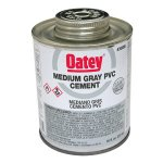 30885 PINT GREY PVC GLUE