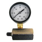 "CD 60 PSI 2"" GAS TEST GAUGE"