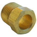 1/2 INVERTED FLARE BRASS NUT