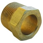 5/8 INVERTED FLARE BRASS NUT