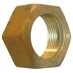 5/8 CHROME PLATED BRASS COMPRESSION NUT