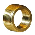 1/2X3/8 BRASS FACE BUSHING