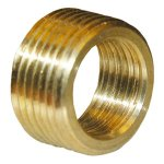 3/4X1/2 BRASS FACE BUSHING