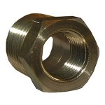 3/8X1/8 BRASS HEX BUSHING