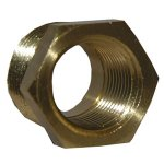 1/2X3/8 BRASS HEX BUSHING