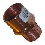 3/4 X 1/2 C X M COPPER MALE PIPE THREAD ADAPTER 10 PACK
