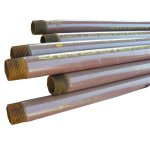 "1"" X 10' ""COATED GAS"" PIPE"