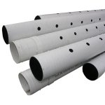 "3""X10' PERFORATED S&D PIPE"