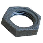 1/2 BLACK LOCK NUT
