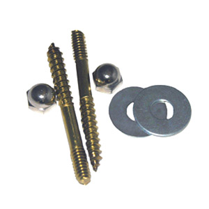REG. BRASS CLOSET SCREWS