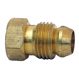1/4 BREAK-AWAY BRASS NUT 2 PC