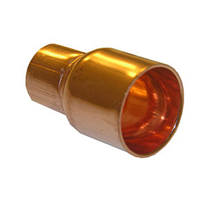 1 1/2 X 1 FTG X C COPPER FITTING REDUCING COUPLING