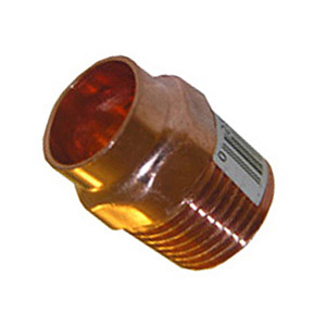 1/2 COPPER MALE PIPE THREAD ADAPTER 10 PACK