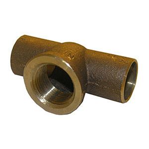 3/4 C X C X F COPPER CAST FEMALE IRON PIPE TEE