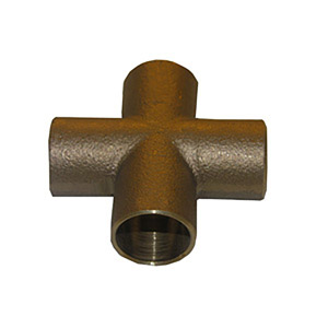 1/2 COPPER CAST CROSS