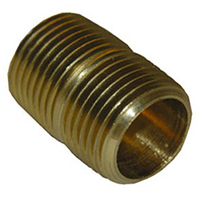 3/8 X CLOSE BRASS NIPPLE