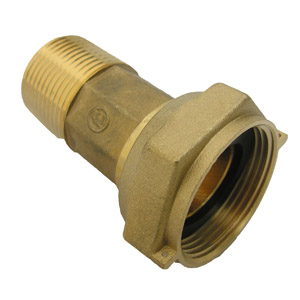 "CD 1"" WATER METER COUPLING"