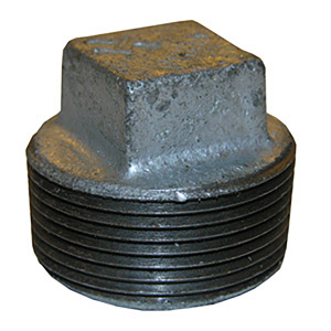 1-1/2 GALV SQUARE HEAD PLUG