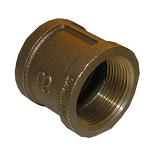 1-1/4 BRASS COUPLING
