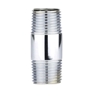 1/2 X 2 CHROME PLATED BRASS NIPPLE