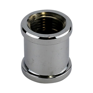 3/8 CHROME PLATED BRASS COUPLING