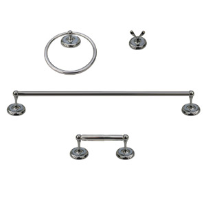 CP 4PC TOWEL BAR SET