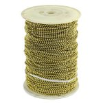 #6 BRASS BEADED CHAIN (500 FT)