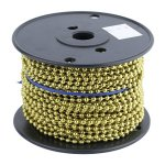 #10 BRASS BEADED CHAIN (100FT)