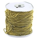 #10 BRASS BEADED CHAIN (500FT)
