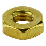 5/16 BRASS HEX NUT