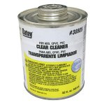 30805 PT CLEAR PVC CLEANER