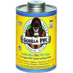 GORILLA BLUE HOT PVC GLUE 4OZ