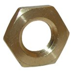 1/4 FEMALE PIPE THREAD BRASS LOCKNUT