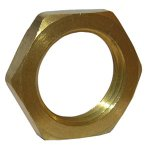 CD 3/8 BRASS LOCKNUT