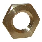1/2 FEMALE PIPE THREAD BRASS LOCKNUT
