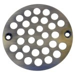 "AB 4"" FLAT STRAINER W/SCREWS"