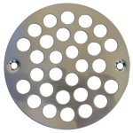 "SN 4"" FLAT STRAINER W/SCREWS"