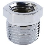 3/8 X 1/4 CHROME PLATED BRASS BUSHING
