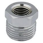 1/2 X 1/4 CHROME PLATED BRASS BUSHING