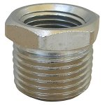 1/2 X 3/8 CHROME PLATED BRASS BUSHING